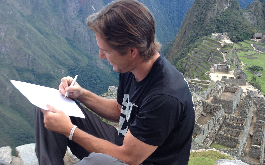 Scott retires at Saint during the Team Gleason Experiment in Peru