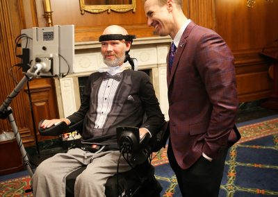 Congressional Gold Medal Ceremony - Steve and Drew Brees