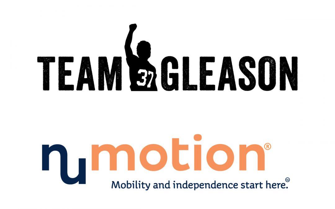 Team Gleason partners with Numotion